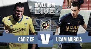 Cadiz - UCAM Murcia en directo online (1-0)