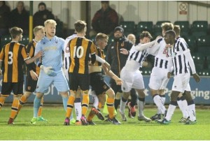 Confusion as Hull City Under-23 game is abandoned amidst skirmish