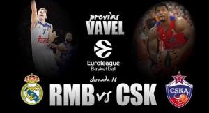 Previa Real Madrid de Baloncesto - CSKA Moscú: El partido más esperado de la Euroliga