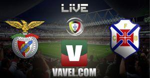 Benfica vs Belenenses en vivo y en directo