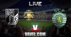 Resultado Vitoria Guimaraes vs Sporting de Portugal en la Taça da Liga 2014(0-2)