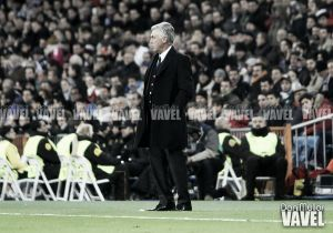 """Ancelotti: """"Tuvimos dificultades para tener el balón"""""""