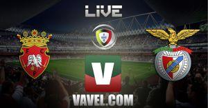 Penafiel vs Benfica en vivo y en directo