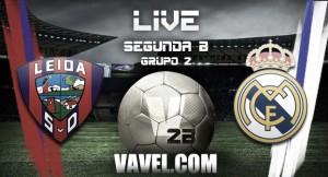 Resultado Leioa - Real Madrid Castilla en Segunda B 2015 (1-1)