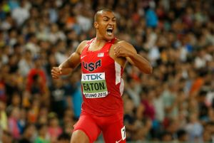 Beijing 2015: Ashton Eaton, oro e record. La Kuchina si prende l'alto,Giamaica davanti nella 4x100