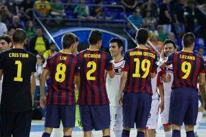 Santiago Futsal - FC Barcelona: duelo de colosos