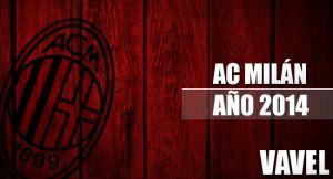 AC Milan 2014: un año de altibajos
