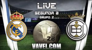 Real Madrid Castilla - Conquense en directo online