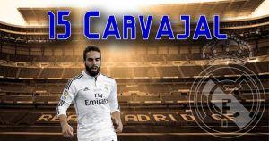 Real Madrid 2014/15: Dani Carvajal