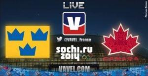 Live Sochi 2014 : la finale de hockey sur glace masculin Suède vs Canada en direct
