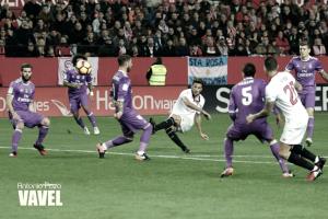 El Real Madrid sufre la venganza del Sevilla y cae derrotado