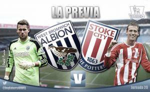 West Bromwich Albion - Stoke City: partido para medir objetivos