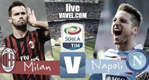 Risultato finale Milan - Napoli in diretta, Serie A 2016/17 LIVE (1-2): azzurri che vincono a San Siro, rossoneri sfortunati