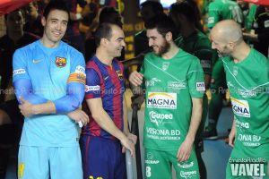 Magna Navarra - FC Barcelona: duelo de veteranos
