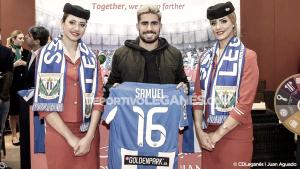 """Samu García: """"Estoy muy agradecido al Lega por darme la oportunidad de volver a La Liga"""""""