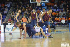 Fotos e imágenes del FC Barcelona 114-110 Unicaja, 16ª jornada de la Liga Endesa