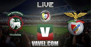 Marítimo vs Benfica en vivo y en directo online (0-4)