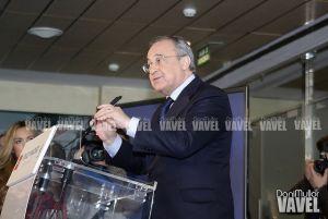 Rueda de prensa de Florentino Pérez en vivo y en directo online