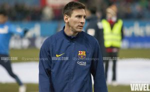 Messi, clave en los goles culés