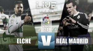 Resultado Elche vs Real Madrid en vivo (0-2)