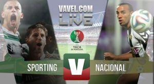 Resultado Sporting de Portugal vs Nacional en la Taça de Portugal 2015 (1-0)