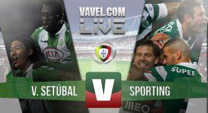 Resultado Vitoria de Setúbal vs Sportingen la Liga Portuguesa 2015(1-2)