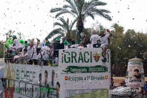 La Generalitat entregará al Elche una placa al mérito deportivo el 9 de Octubre