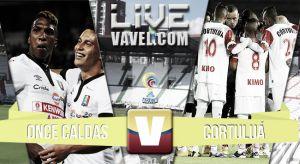 Resultado Once Caldas vs Cortuluá en la Liga Águila 2015 (3-2)