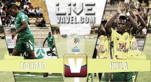 Resultado Equidad vs Huila en la Liga Águila 2015 (1-2)