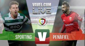 Resultado Sporting de Portugal vs Penafielen la Liga Portuguesa 2015(3-2)