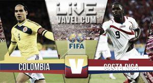 Resultado Colombia vs Costa Rica en partido amistoso FIFA 2015 (1-0)