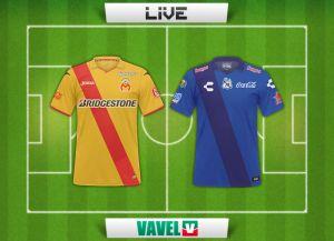 Resultado Monarcas Morelia vs Puebla en la Liga MX 2015 (1-2)