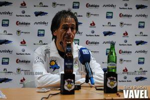 """Pepe Calvo: """"Vamos a intentar ir arañando y llegar a lo que queremos, 44-45 puntos"""""""