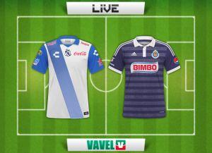 Resultado Puebla vs Chivas en vivo (1-2)