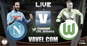 Resultado Nápoles vs Wolfsburgo en la Europa League 2015 (2-2)
