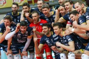 Volley M - Lube, Diatec Trentino e Sir Safety Perugia sono le prime semifinaliste scudetto