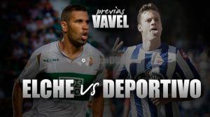 Elche CF - Deportivo de La Coruña: objetivo 32 puntos