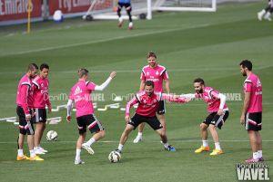 Bale no salta al césped de Valdebebas
