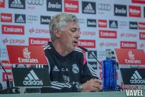 """Ancelotti: """"Esperamos a Bale para el Sevilla y a Benzema para la Juventus"""""""