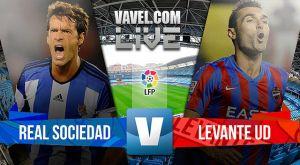 Resultado Real Sociedad vs Levante en la Liga BBVA 2015 (3-0)