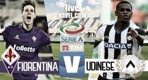 Risultato Fiorentina - Udinese diretta, LIVE Serie A 2016/17 - Borja Valero, Babacar, Bernardeschi!(3-0)