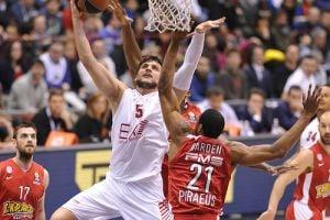 Eurolega top 16, Olympiacos troppo superiore, Milano cede: qualificazione lontana