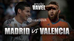 Real Madrid - Valencia: parada decisiva en el Santiago Bernabéu
