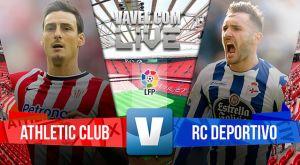 Resultado Athletic de Bilbao vs Deportivo de La Coruña en la Liga BBVA 2015 (1-1)