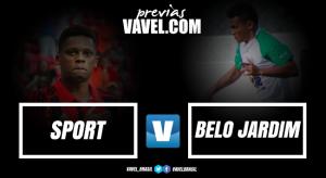 Em jogo atrasado do Pernambucano, Sport encara Belo Jardim