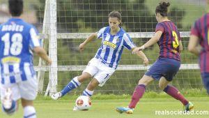El FC Barcelona muestra su superiodad en Zubieta