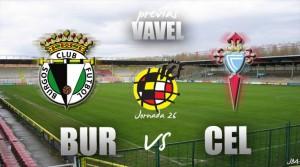 Previa Burgos CF-Celta de Vigo B: ganar para avanzar