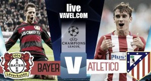 Risultato Bayer Leverkusen - Atletico Madrid in diretta, LIVE Champions League 2016/17 - Saul, Griezmann, Bellarabi, Gameiro, Savic (A), Torres! (2-4)