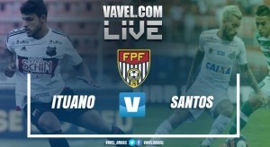 Resultado Ituano x Santos pelo Campeonato Paulista (0-0)