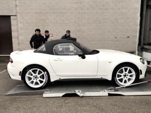 El Abarth 124 Spyder R-GT de Muñiz ya tiene fecha de presentación
